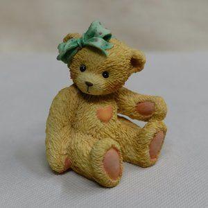 """Cherished Teddies """"Jacki"""" Hugs & Kisses Figurine"""